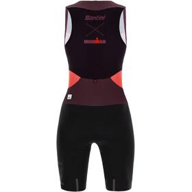 Santini Audax Aero Kombinezon triathlonowy bez rękawów Kobiety, granatina